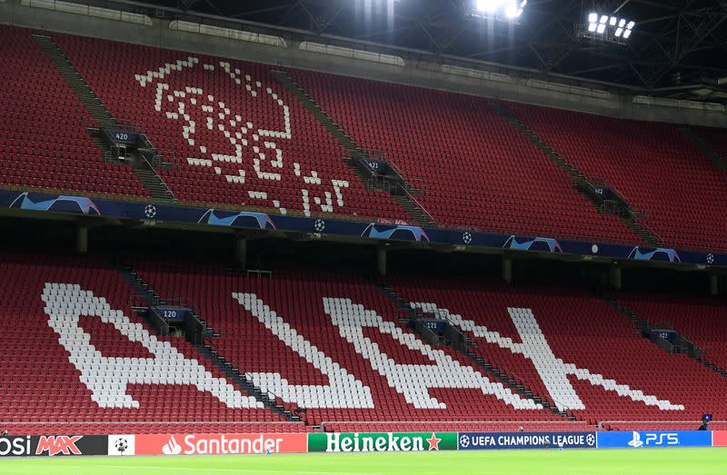 FILE PHOTO: Champions League - Group D - Ajax Amsterdam v Liverpool