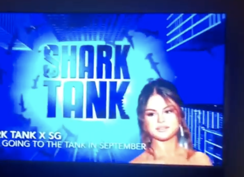 Selena Gomez Is Going to TV's 'Shark Tank' for Her Birthday!