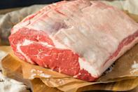 <p>Few people buy a full 25-pound beef rib roast, so your next decision will likely be whether to get the first cut or the second cut. The first cut, which can also be called the loin end or the small end, is, well, closer to the loin. It has a single rib-eye muscle, which makes it more uniform and tender, and thus typically more desirable. The second cut has different muscles instead of just the one and has more connective tissue. It's still delicious and features fatty pockets, which can add flavor and thus makes it a favorite for some.</p>