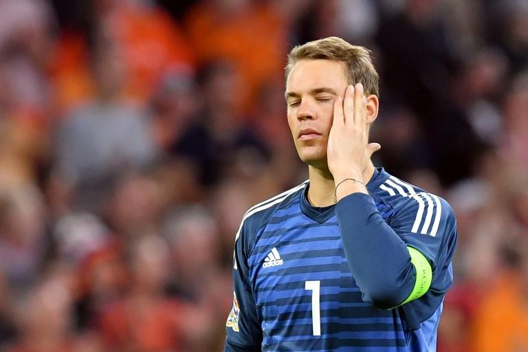 Germany captain Manuel Neuer, 32, is not the world-class goalkeeper he once was after twice fracturing his foot in 2017