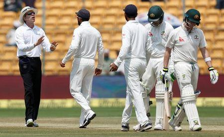 Cricket - India v Australia - Second Test cricket match