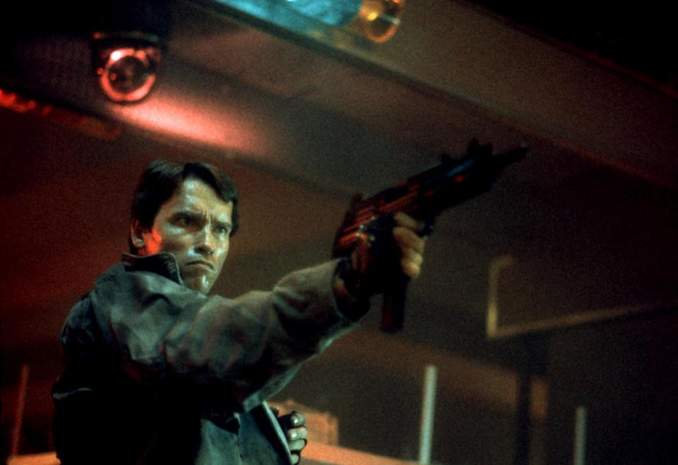 """<div><p>""""After <i>Terminator 2: Judgment Day</i>...was there anything better than that?""""</p><p>—<a href=""""https://www.reddit.com/r/AskReddit/comments/o7bmha/what_movie_franchise_shouldve_stopped_at_2/h2ydhz1/?context=3&utm_medium=web2x&utm_source=reddit"""" rel=""""nofollow noopener"""" target=""""_blank"""" data-ylk=""""slk:u/MrBroBotBrian"""" class=""""link rapid-noclick-resp"""">u/MrBroBotBrian</a></p></div><span> Orion Pictures Corp. / Orion Pictures Corp. / Courtesy Everett Collection</span>"""