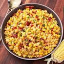 "<p>In the summer months (when all the best veggies are in season), we can't get enough of <a href=""https://www.delish.com/cooking/a22487458/corn-on-the-cob/"" rel=""nofollow noopener"" target=""_blank"" data-ylk=""slk:corn on the cob."" class=""link rapid-noclick-resp"">corn on the cob.</a> This easy corn salad is the perfect side for a barbecue, and we plan on eating it ALL summer long. </p><p>Get the <a href=""https://www.delish.com/uk/cooking/recipes/a32808332/bacon-jalapeno-corn-salad-recipe/"" rel=""nofollow noopener"" target=""_blank"" data-ylk=""slk:Bacon Jalapeño Corn Salad"" class=""link rapid-noclick-resp"">Bacon Jalapeño Corn Salad</a> recipe.</p>"