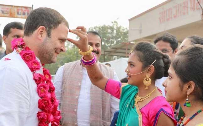 <p>Ahead of Rahul Gandhi's big moment, supporters and party workers are already at the Congress headquarters on New Delhi's Akbar Road. The young president-elect has a big task ahead of him.</p><p> </p>