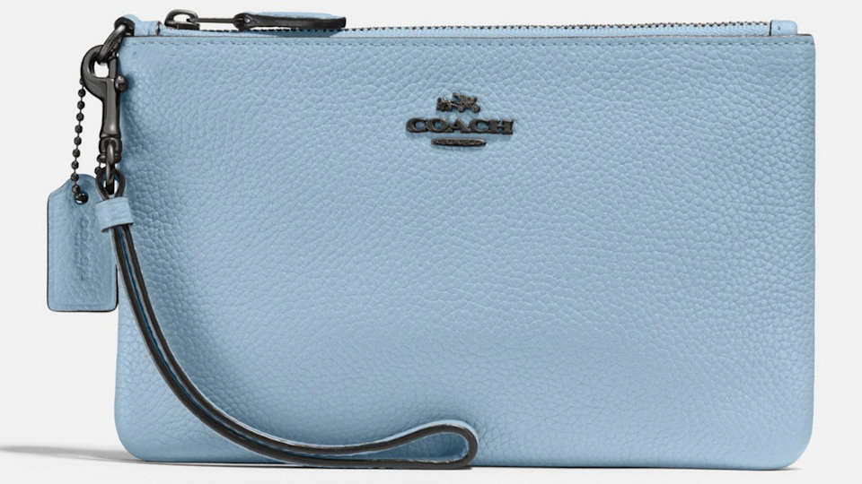 Best gifts for mom: Coach wristlet