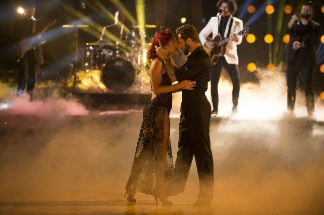 Artem and Sharna DWTS