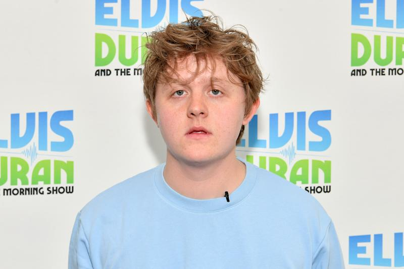 """NEW YORK, NEW YORK - JUNE 06: Lewis Capaldi visits """"Elvis Duran and the Z100 Morning Show"""" at Z100 Studio on June 06, 2019 in New York City. (Photo by Dia Dipasupil/Getty Images)"""