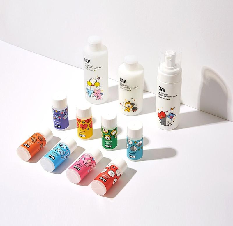 BTS Just Launched Adorable BT21-Themed Skin-Care Products