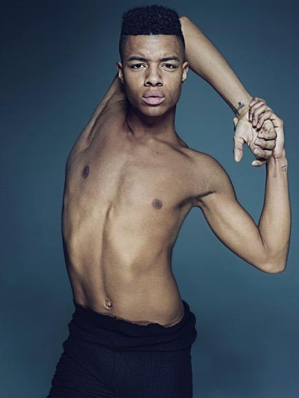 "<p>""This is Louis McMiller, who is classically trained but now dances for Wayne McGregor 