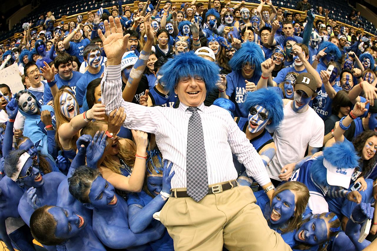 <strong>9. Dick Vitale</strong><br /><strong>Why was he hated?</strong> Two words: Wo and Jo. (And yes, we know, he didn't go to Duke. It just seems like it.)