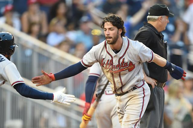 The Atlanta Braves are postseason bound again. (Photo by Mitchell Layton/Getty Images)