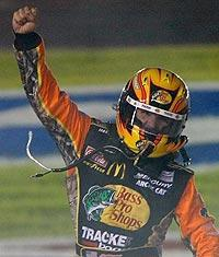 Prior to this season, Jamie McMurray had won three races in his Cup career. He's won three this season