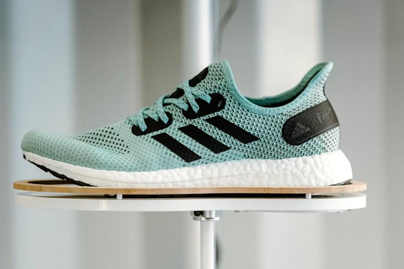 more photos ef3e5 06399 Adidas Speedfactory Unveils Its First High-Performance Running Shoe Made  With Recycled Plastic Off the West Coast
