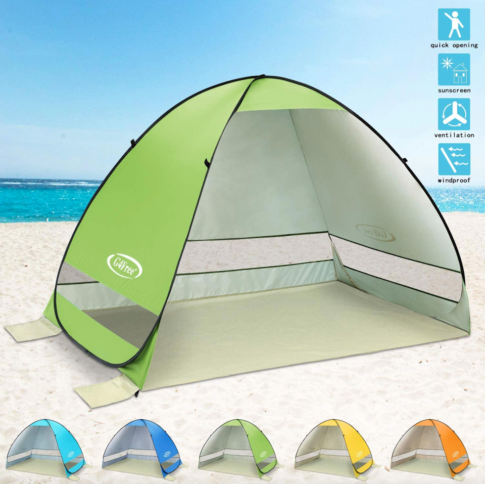 "<h2>Automatic Sun Shelter</h2>The best way to combat driving fatigue? Taking necessary breaks. Take a rest from subjecting your eyes to the sun, ward off an unnecessary burn, and enjoy your lunch under the shade of this canopy.<br><br><br><strong>G4Free</strong> Automatic Sun Shelter, $, available at <a href=""https://www.amazon.com/G4Free-Outdoor-Automatic-Portable-Picnicing/dp/B01EXWOOQQ/ref=sr_1_1"" rel=""nofollow noopener"" target=""_blank"" data-ylk=""slk:Amazon"" class=""link rapid-noclick-resp"">Amazon</a>"