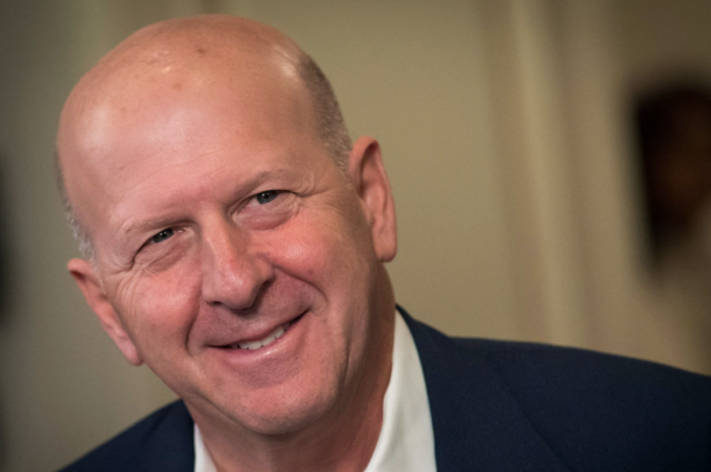 David Solomon, co-president and co-chief operating officer of Goldman Sachs Group Inc. Photographer: David Paul Morris/Bloomberg via Getty Images
