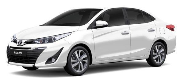 Cheapest Cars in the Philippines Under P1 Million - Toyota Vios