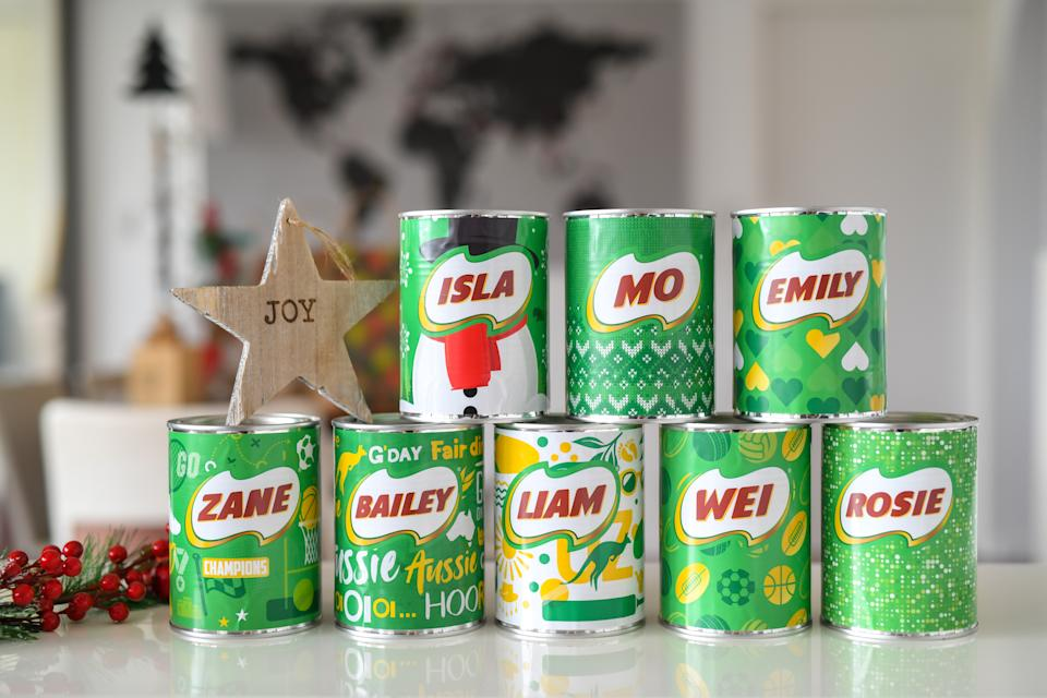 Personalised Milo Tin $20. Photo: Supplied
