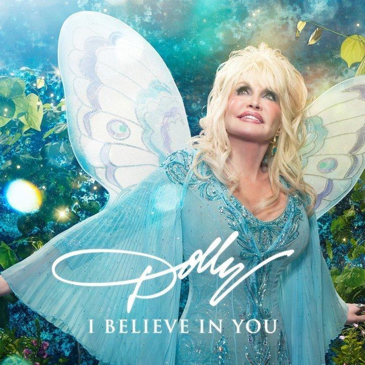 "Dolly Parton's new children's album, ""I Believe In You,"" is a nod to the classic children's story ""The Little Engine That Could."" (DOLLY RECORDS/RCA NASHVILLE)"