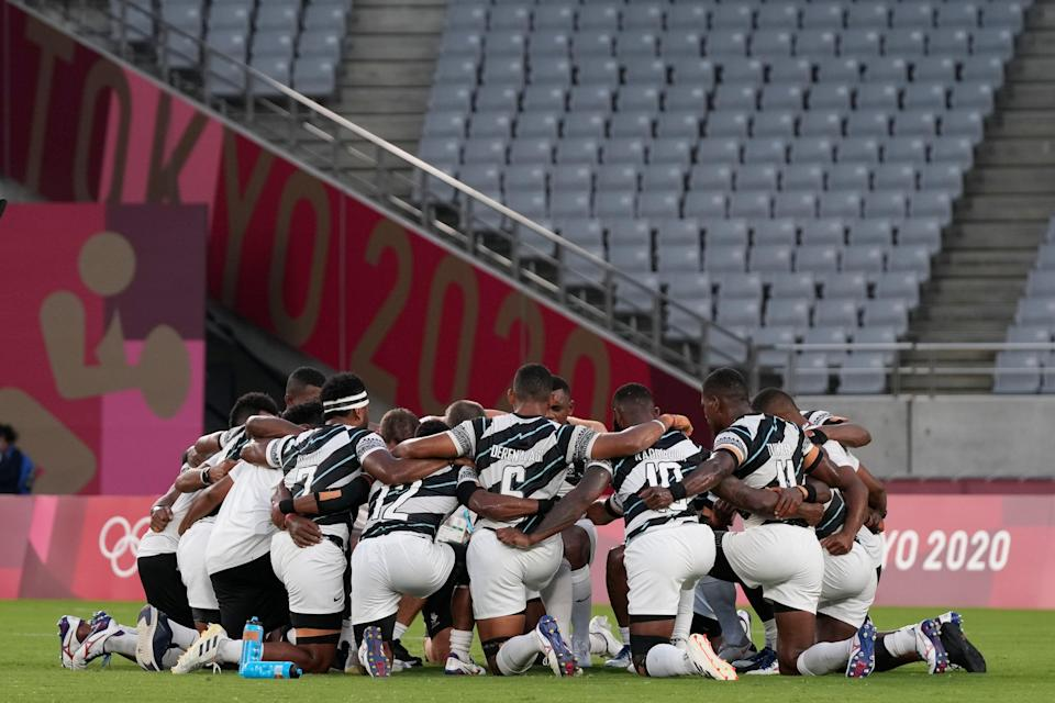 Tokyo Olympics Rugby (Copyright 2021 The Associated Press. All rights reserved)