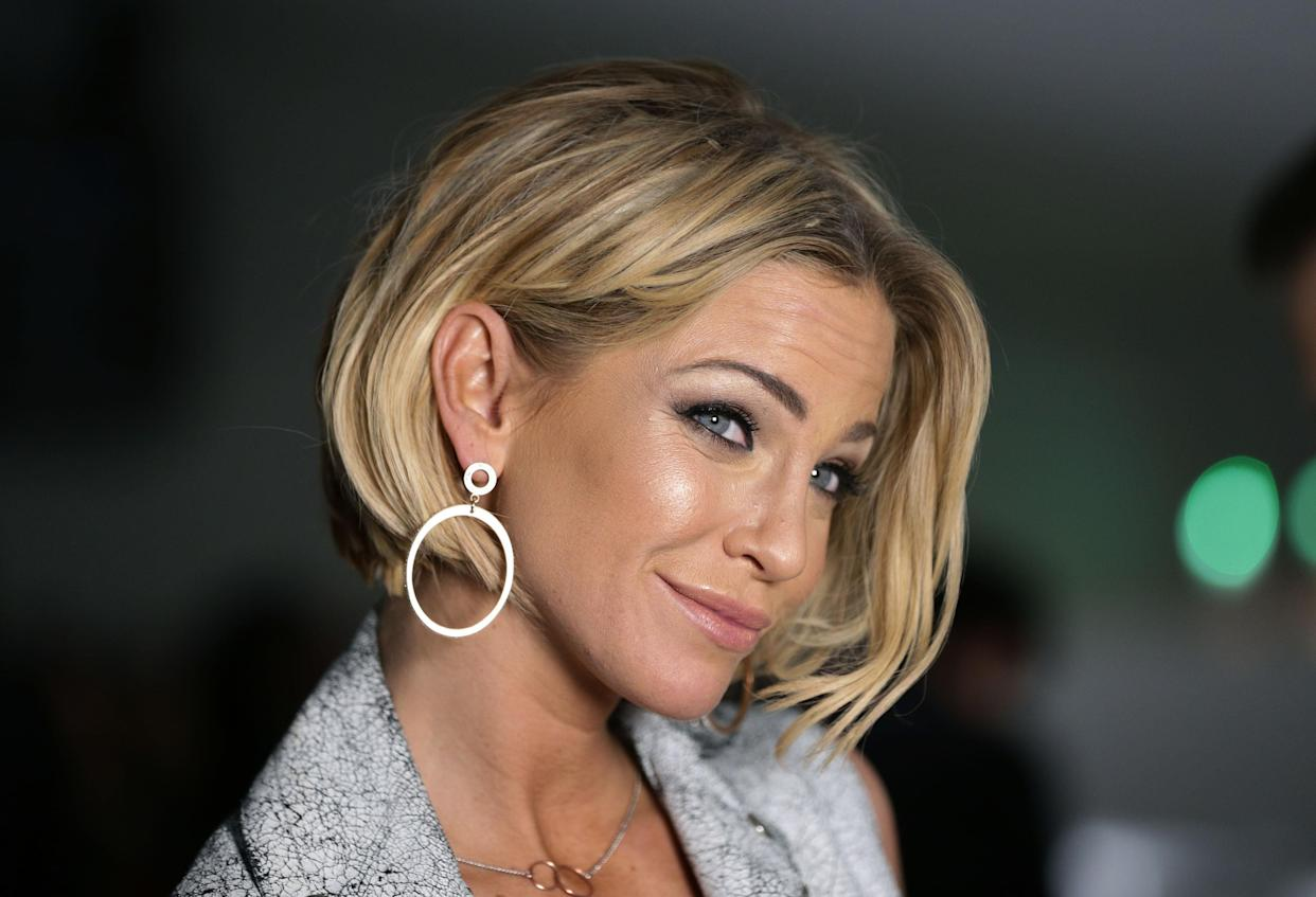 File photo dated 20/02/2015 of Sarah Harding attending the Jean-Pierre Braganza Autumn/Winter 2015 London Fashion Week show, at the BFC Courtyard Show Space in Somerset House, London. The Girls Aloud star has died at the age of 39, her mother has said in a post on Instagram. Issue date: Sunday September 5, 2021.