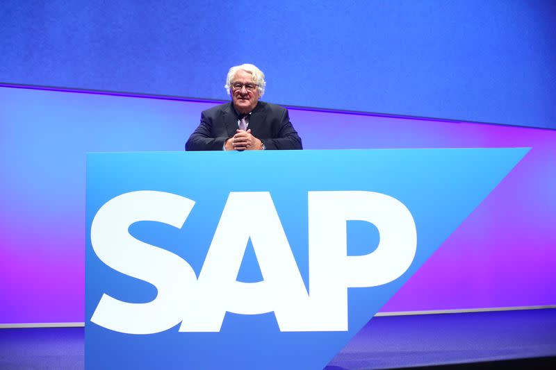 SAP holds annual general meeting in Mannheim