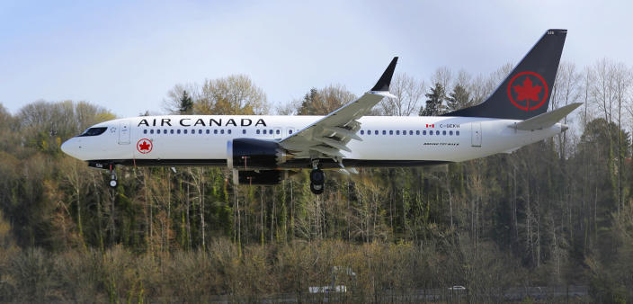 Air Canada was ordered to pay 21 thousand Canadian dollars to the couple who claimed that the airline violated Canada's language laws. (AP)