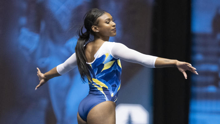 Gymnast Nia Dennis deserves praise for her