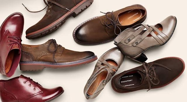 <span>Rockport will be offering 40% off select styles</span> plus free shipping starting on Thanksgiving (11/23-11/29).