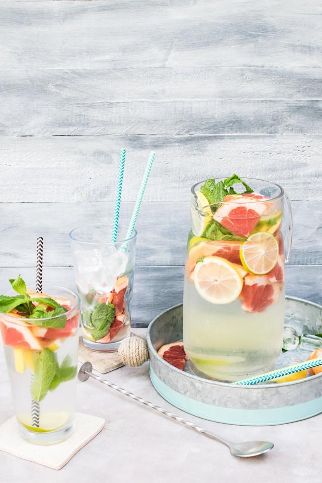 "<p>Whip up a <a href=""https://www.popsugar.com/food/chrissy-teigen-vodka-watermelon-slushie-recipe-47508903"" class=""ga-track"" data-ga-category=""Related"" data-ga-label=""https://www.popsugar.com/food/chrissy-teigen-vodka-watermelon-slushie-recipe-47508903"" data-ga-action=""In-Line Links"">batch of your favorite cocktails</a>, and serve them to a small group of friends in your backyard. You could even make this a weekly happy hour and rotate backyards and cocktail recipes!</p>"