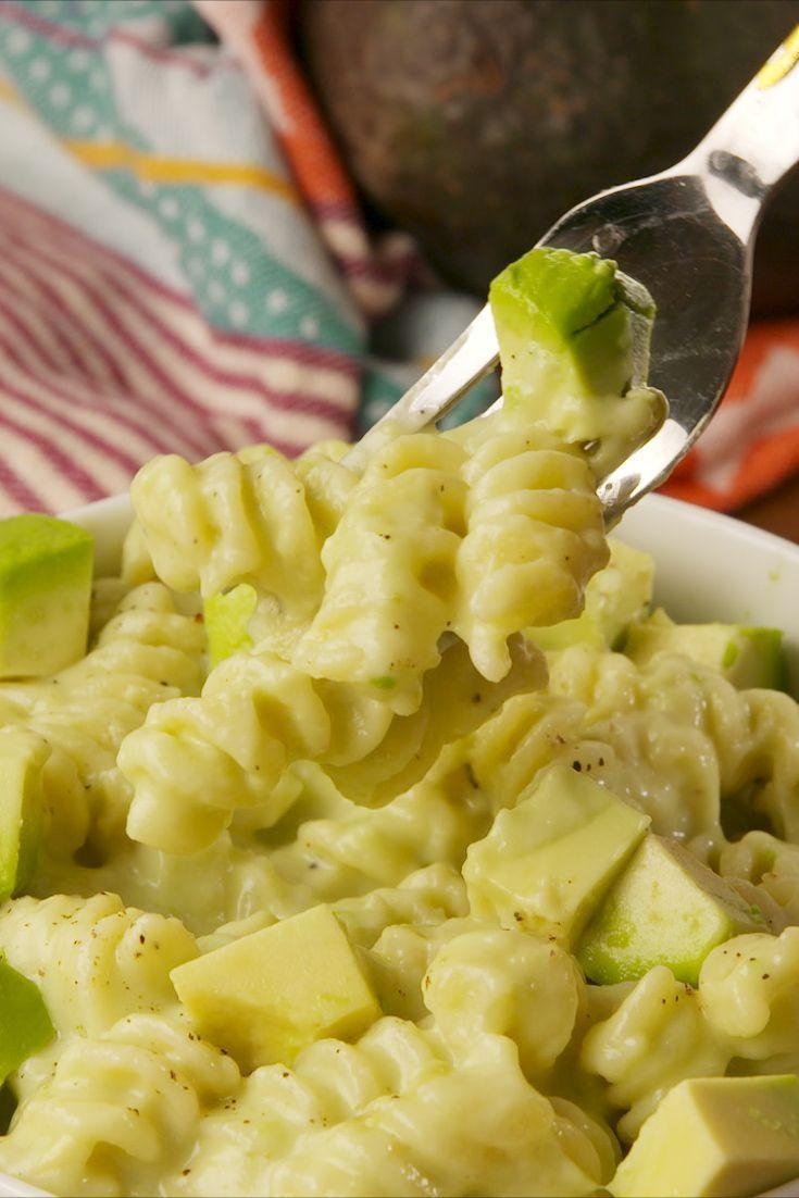 """<p>Avocados make everything better. Not only are they a firm Instagram fave (hello avo toast), but they're also ideal for adding creaminess to loads of different dishes.</p><p>Get the <a href=""""https://www.delish.com/uk/cooking/a30512606/avocado-mac-cheese-recipe/"""" rel=""""nofollow noopener"""" target=""""_blank"""" data-ylk=""""slk:Avocado Mac & Cheese"""" class=""""link rapid-noclick-resp"""">Avocado Mac & Cheese</a> recipe.</p>"""