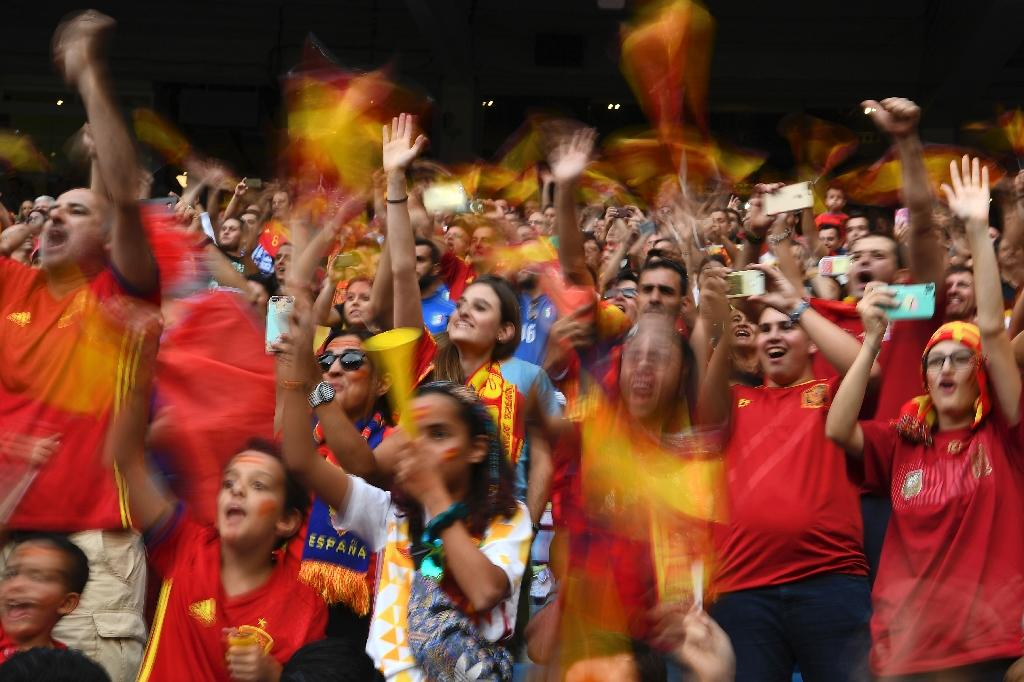 The Spanish football federation and Spanish Prime Minisister Mariano Rajoy insisted that Spain would indeed go to the World Cup in Russia (AFP Photo/GABRIEL BOUYS                    )