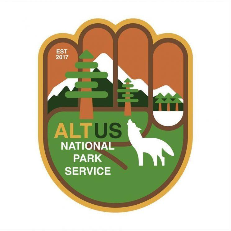 alt national park service logo