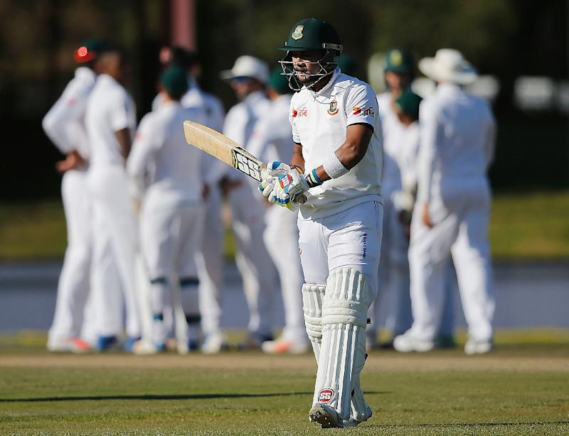 Bangladesh lose four early wickets in South Africa Test