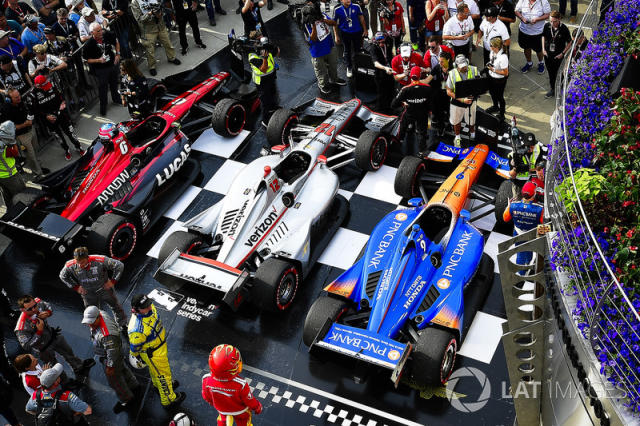 """The chance to battle with the likes of Will Power and Scott Dixon again – something Wickens did as a rookie! – is part of what drives him on. <span class=""""copyright"""">Scott R LePage / Motorsport Images</span>"""