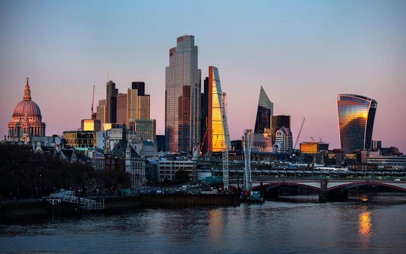 The City of London skyline - Barry Lewis