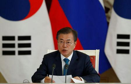 South Korean President Urges North Korea, US to move Forward with Denuclearization