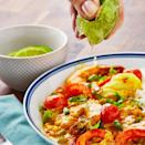 """<p>This indulgent fish <a href=""""https://www.delish.com/uk/curry-recipes/"""" rel=""""nofollow noopener"""" target=""""_blank"""" data-ylk=""""slk:curry"""" class=""""link rapid-noclick-resp"""">curry</a> is full of gorgeous spices like fenugreek powder, cumin and red chillies. Use whatever white fish you want, but we opted for cod. We all use whole coconut milk as we love the flavour, but swap for reduced-fat if you prefer. </p><p>Get the <a href=""""https://www.delish.com/uk/cooking/recipes/a30269010/fish-curry/"""" rel=""""nofollow noopener"""" target=""""_blank"""" data-ylk=""""slk:Coconut Fish Curry"""" class=""""link rapid-noclick-resp"""">Coconut Fish Curry</a> recipe.</p>"""
