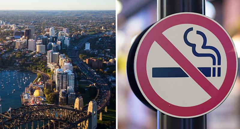 North Sydney councillors have unanimously voted to ban smoking in the CBD. Source: Facebook/North Sydney Council