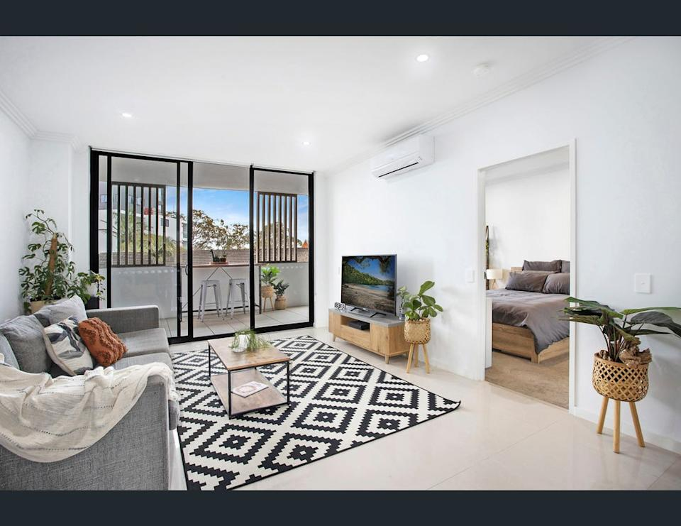 Image of living room at C102/1081 Old Princes Highway, Engadine, NSW 2233.