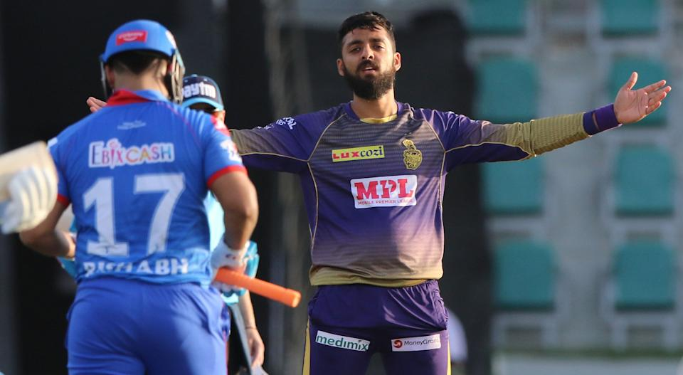 Varun Chakravarthy became the first bowler in this edition of the IPL to take five wickets in one innings of the game. He returned with the bowling figures of 5/20 against Delhi Capitals.