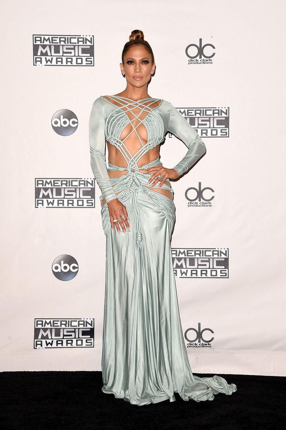 <p>At the American Music Awards</p>
