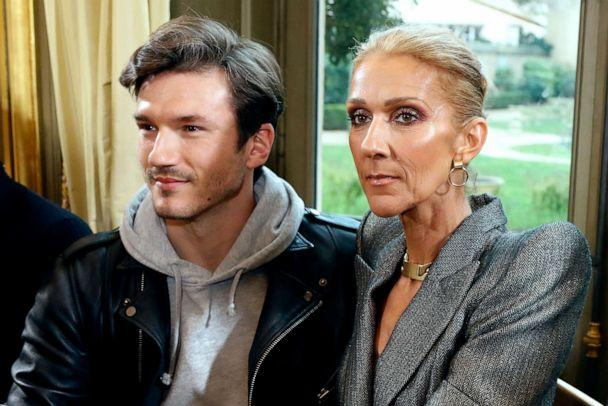 PHOTO: Canadian singer Celine Dion and Spanish dancer Pepe Munoz arrive for the 2019 Spring-Summer Haute Couture collection fashion show by RVDK Ronald van der Kemp in Paris, Jan. 23, 2019. (Francois Guillot/AFP/Getty Images, FILE)