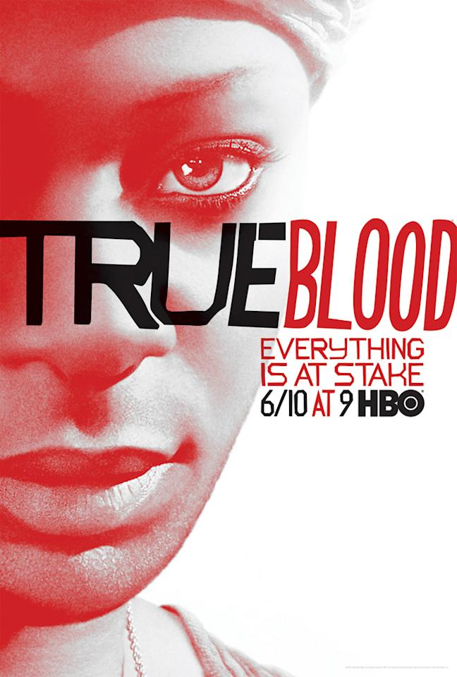 """True Blood"" Season 5 poster featuring Lafayette Reynolds (Nelsan Ellis)"