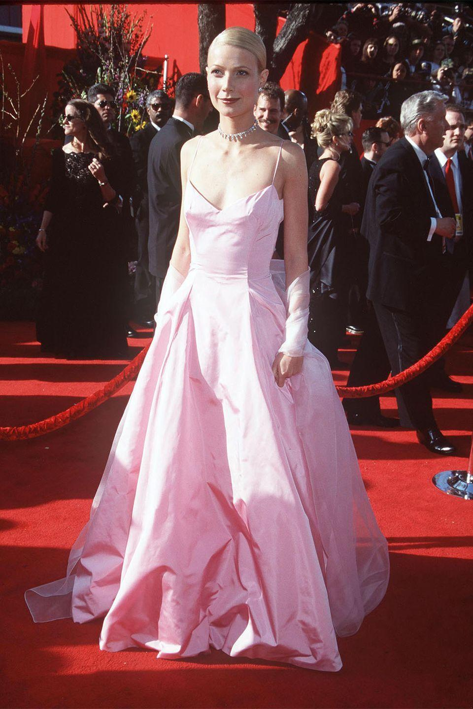 <p>Not only did Gwyneth Paltrow cement her status as an award-winning actress at this Academy Awards, but she also cemented her status as a style icon in the making. </p>
