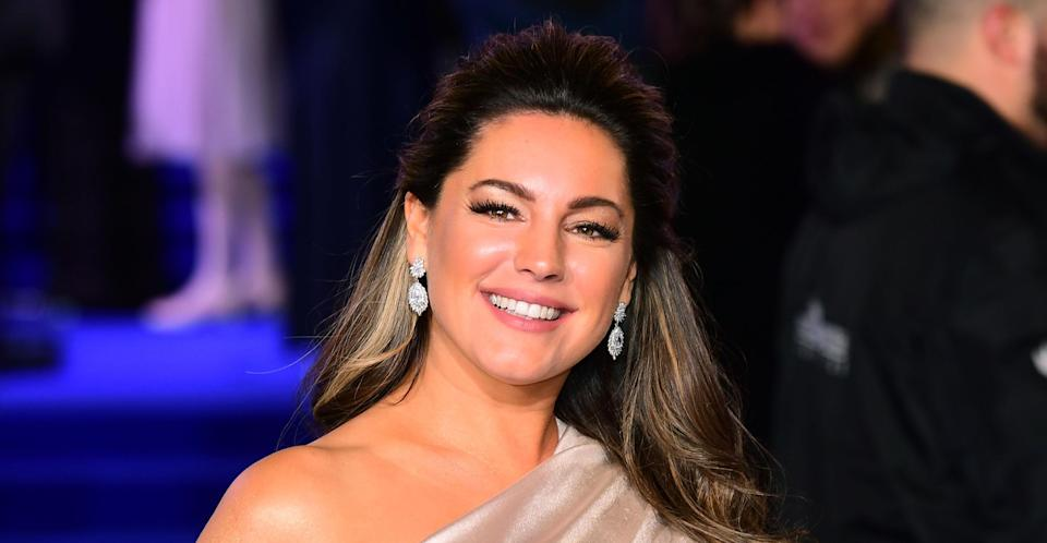 Kelly Brook says she's lost over a stone in just a few weeks.