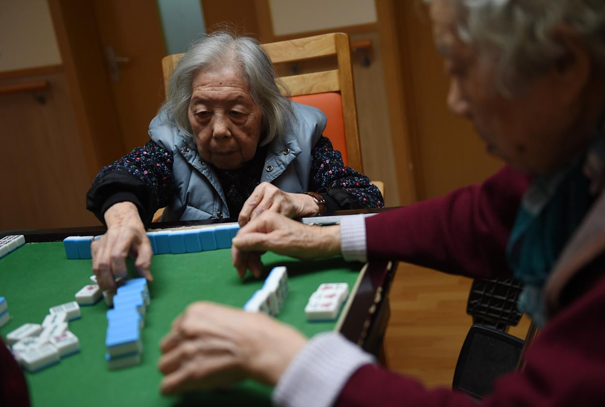 CHINA-SOCIETY-HEALTH-ELDERLY-DEMOGRAPHICS