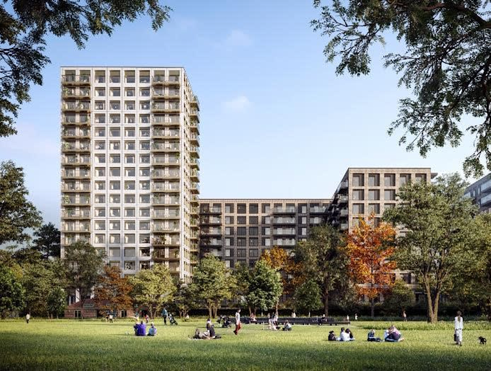 View of Riverscape project. Photo: JLL
