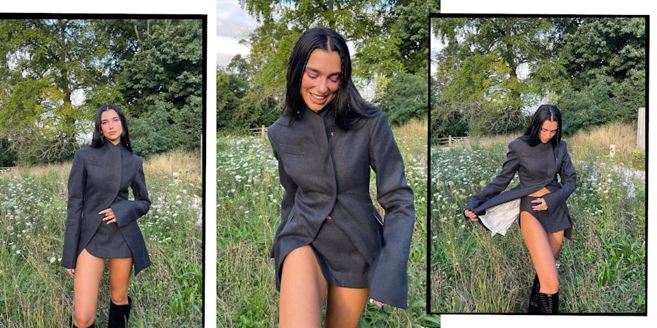 <p>Dua Lipa is famed for her husky vocals, impressive upper-abs, and, of course, her epic red carpet style. From her Versace Met Gala triumph, to her cool AF Alexander Wang two-piece (worn to the 2020 Grammys), here are the Albanian-Brit's best outfits. </p>
