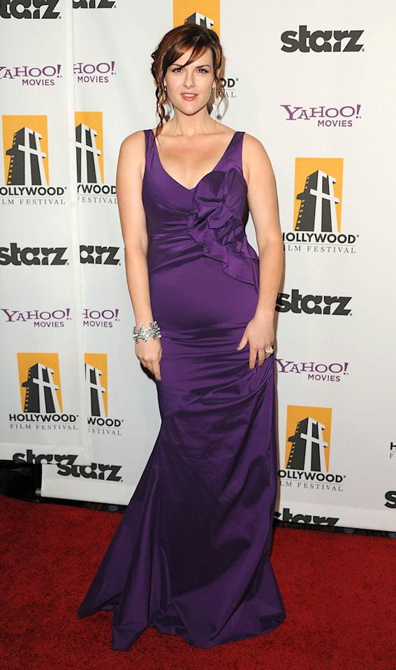 """<a href=""""http://movies.yahoo.com/movie/contributor/1804495349"""">Sara Rue</a> at the 15th Annual Hollywood Film Awards in Beverly Hills, California on October 24, 2011."""