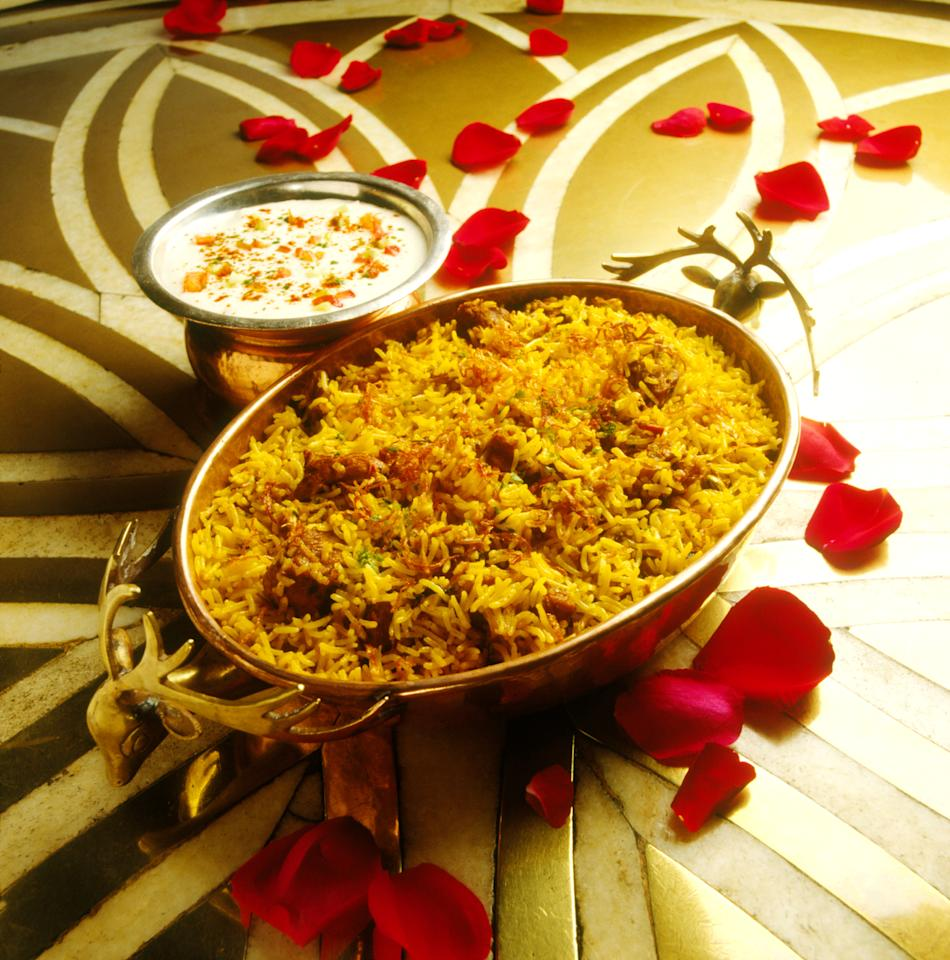 <p>The Mughal Emperors were very fond of lavish dining experiences and appreciated the art of cooking. The traditional Mughlai Biryani had perfectly spiced meat chunks with kewra scented rice that emanated irresistible aroma that can make anyone hungry instantly. </p>